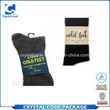 De buena calidad superfina calcetín pegatinas etiquetas personalizadas