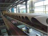 Wj-150-2000 chaîne de production ondulée de papier cartonné de 5 couches