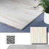 Tegel van de Vloer van het Porselein van Carara de Witte Verglaasde Marmer Opgepoetste (600X600mm, VRP6H019)