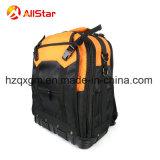 Ferramenta de poliéster durável multifunção mochila saco com base de disco rígido