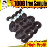 Pode ser o cabelo humano brasileiro da cor 100%
