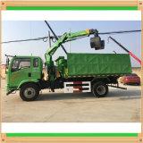 De kleine Kraan van de Vrachtwagen van 2.5 Ton met Telescopische Boom