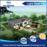 Diseño de 3 dormitorios prefabricados de acero de la luz de Kit de la casa