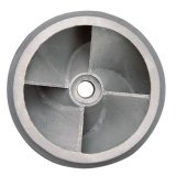 El metal de la aleación de molde de las piezas del bastidor del hierro vierte proceso