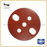 Segmento de Tipo do ventilador da placa de moagem de diamante para concreto.