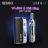 De populaire Koning van Seego Vhit & tc-50W de Droge Uitrusting van de Verstuiver van de Pen van Vape van het Kruid