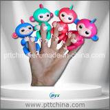 재고 작은 물고기 원숭이, 핑거 전자 애완 동물 장난감 적은 와우 작은 작은 물고기 아기 원숭이