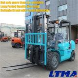 Forklift de Ltma Forklift Diesel de um Minimanual de 3 toneladas com altura de levantamento de 3m