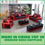 Poltrona ajustada do sofá moderno do couro da sala de visitas da mobília modular