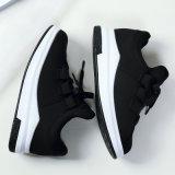 Ботинки эластичной ткани идущие для ботинок пригодности повелительниц атлетических