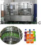 il gas del CO2 delle bottiglie 3000lph dell'animale domestico di 330ml 500m 1000m 1500ml 2000ml contiene la linea di imbottigliamento della bevanda