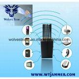Jammer GPS полосы наивысшей мощности 5 портативный (GPS L1/L2/L3/L4/L5)