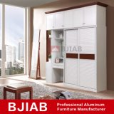 Madeira Teca vermelho metálico moderno mobiliário doméstico guarda-roupa de alumínio com turismo