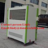 Refrigerador de água 15kw refrigerado a ar do uso da máquina de molde do sopro