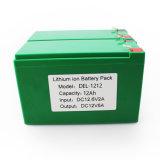 12V/24V Pak van de Batterij van het Lithium van de hoogste Kwaliteit het Zonne Lichte