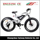 Велосипед горы дросселя большого пальца руки электрический с тарельчатым тормозом