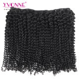 卸売価格のブラジルのバージンの毛の束のねじれたカールの人間の毛髪の織り方