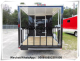 4 Wheels Mobile Van Food Caravan hecha en China Qingdao