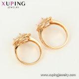 15510 anello del lusso di colore dell'oro dei monili 18K di modo