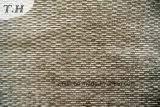 Tela barata do sofá do Chenille da cor do café (FTH31881)