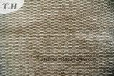 Tela barata del sofá del Chenille del color del café (FTH31881)