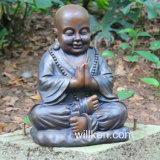 수지 야외 훈장에 의하여 자리가 주어지는 Buddha 정원 동상