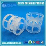 PP, PE, PVC, anel plástico do nuvem de PVDF como a embalagem da torre