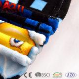 Cobertor coral impresso barato relativo à promoção do bebê do inverno do velo de Emoji