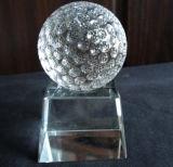 De kleurrijke Golfbal van het Kristal met Beste Kwaliteit en de Prijs zijn Verkoop
