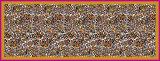 Kundenspezifisches Muster-buntes Digital-Drucken-Silk Georgette-Schal für Frauen