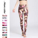 印刷された女性のヨガの摩耗の適性および体操のズボンLegging