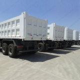Sinotruk HOWO 12 짐수레꾼 대형 트럭 6X4 덤프 트럭 팁 주는 사람 트럭
