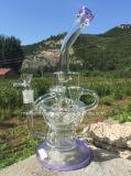 12 Waterpijpen van het Glas van het Recycling van het Water van de duim de Functionele