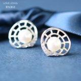 Vite prigioniera vuota dell'orecchino della perla delle coperture (LOVEJOYAS)