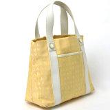 Halfbleached 순수한 백색 색깔을%s 가진 화포 어깨에 매는 가방