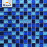 Тополь темно-синий бассейн в форме квадрата плитки мозаики