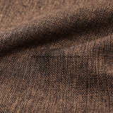 El café se ve la ropa de cama Tapizados Poly sofá de tela de cortina de tela de lino