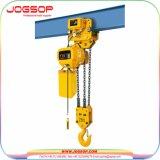 Grua Chain elétrica de 5 toneladas com o trole elétrico para a venda