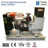 313kVA Groupe électrogène Diesel avec moteur Googol 50Hz