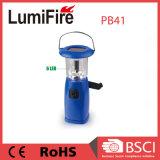 Nachladbarer LED-Arbeits-Licht-Sonnenenergie-Emergency Kurbel-kampierendes Licht