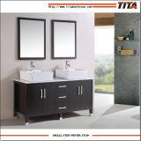 Vanità indipendente cinese della stanza da bagno della mobilia di vanità di trucco della stanza da bagno del MDF