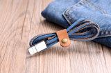 Cable micro del USB de los datos de Charger&Transfer de los pantalones vaqueros
