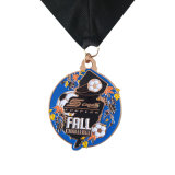 習慣の第2スポーツの柔らかいエナメルが付いている銅の仕上げメダル