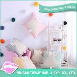 Funda de almohada orgánica de encargo hermosa linda decorativa casera 40X40 del algodón
