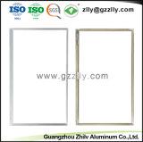 Accesorios de aluminio de color rojo brillante decorativos marcos de TV de materiales de construcción