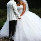 Kristallbrautballkleid-rotes weißes rosafarbenes Tulle-geschwollenes reales Hochzeits-Kleid Rr9009