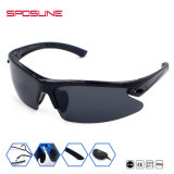 実行中のスポーツによって分極されるスポーツガラスのためのHDの視野UV400のサングラス