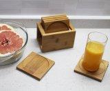 Coaster de bambu personalizado do copo da tabela do Kitchenware