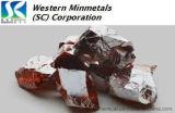 99.999% het Telluride van het zink (ZnTe) bij Bedrijf het Westelijke van MINMETALS (Sc)