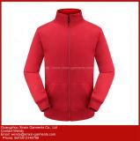 La tuta sportiva nera gialla blu rossa mette in mostra gli abiti sportivi del vestito per preriscaldamento (T276)